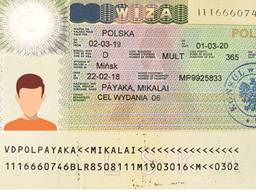 Оформление рабочей визы на 1 год