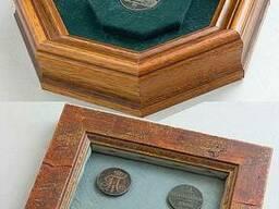 Оформление в раму коллекций монет, орденов, медалей
