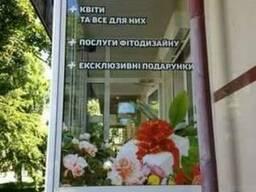 Оформление витрин, «Vector-AG», г. Черкассы