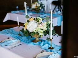 Оформление зала на свадьбу киев