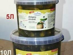 Огірки солоні - огурцы малосольные - Купить огурцы соленые.