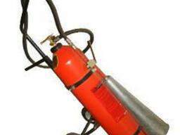 Огнетушитель углекислотный передвижной ОУ-25