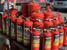 Огнетушители порошковые, углекислотные, обслуживание