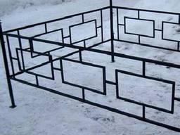 Оградки любой сложности, заборы, скамейки. Оградки в Буче,