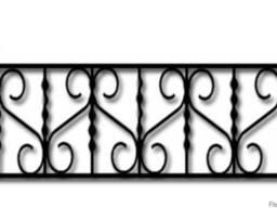 Оградки металлические
