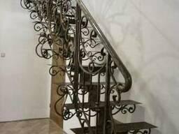 Кованые лестницы. Сварные лестницы. Винтовые лестницы.