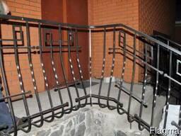 """Ограждение на балконы, скверы, дворы. """"Броневик"""" Днепр."""