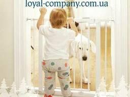 Ограждение с калиткой без сверления от детей Lionelo