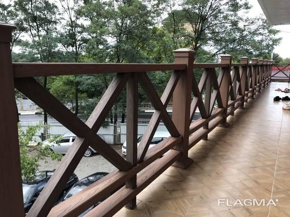 Ограждения из древесно–полимерного композита Nextwood