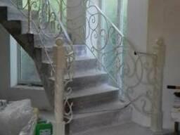 Ограждения, лестницы, перила, решётки.