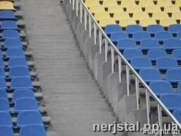 Ограждения из нержавеющей стали для стадиона