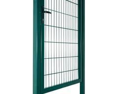 Ограждения секционные, столбы, калитки, ворота
