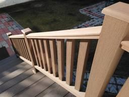 Ограждения веранды балкона террас Woodvex