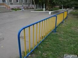 """Ограждения во двор и на улицу. """"Броневик"""" Днепропетровск."""
