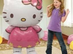 """Огромные фольгированые воздушные шары в форме """"Hello Kitti"""""""