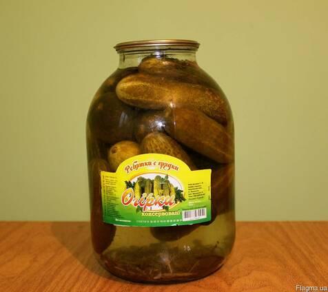 Огурцы консервированные