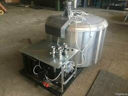 Охладитель молока Б/У ALFA LAVAL 500 открытого типа объёмом