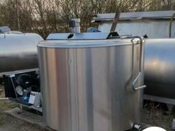 Охладитель молока б\у DeLaval объемом 1200 литров