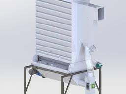 Охладительная колона для гранул