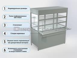 Охлаждаемая витрина - модуль линии раздачи
