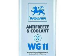 Охлаждающая жидкость Wolver Antifreeze Coolant WG11 Konzen