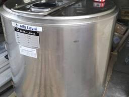 Охладитель молока Alfa Laval на 300 литров открытого типа