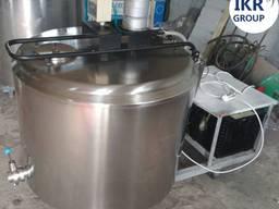 Охолоджувач молока б/у A-lima Bis на 300 литров открытого ти