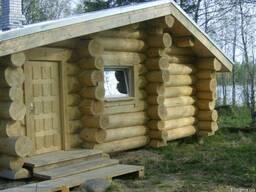 Охотничьи домики, домики для рыбалки (рыбаков) со сруба