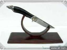 Охотничьи ножи из алмазной, дамасской стали ручной работы