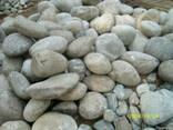 Окатиш(річковий камінь),валуни,галька - фото 1