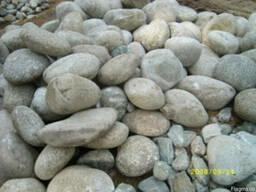 Окатиш(річковий камінь),валуни,галька