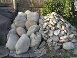 Окатиш(річковий камінь),валуни,галька - фото 3