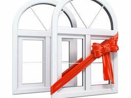 Окна, двери, вікна двері металопластикові металлопластиковые - фото 2