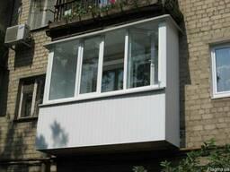 Окна , обшивка балконов, откосы пластик, сендвич- панель