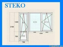 Окна STEKO Балконные