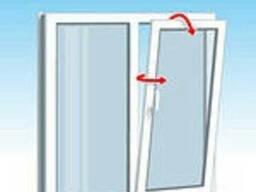 Окно металлопластиковое 1 х 1,2