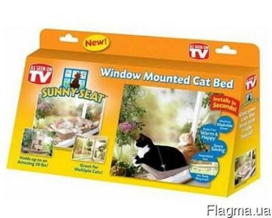Оконная кровать для кота Sunny Seat