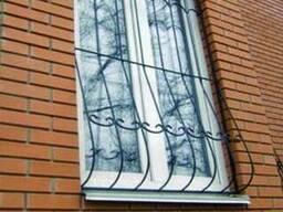 Решетки на окна грати на вікна кованые и металлические изгот