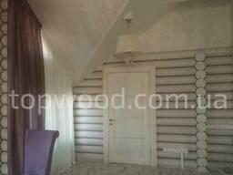 Окосячка окон, дверей в деревянных домах из бруса, сруба - photo 3