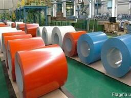 Окрашенная рулонная сталь 0. 33-1. 0мм