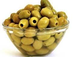 Оливки зеленые без косточки , оптом недорого