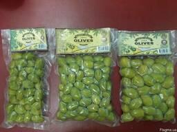 Оливки зеленые , производства Албания оптом