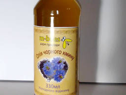 Олія чорного кмину, тара по 330мл