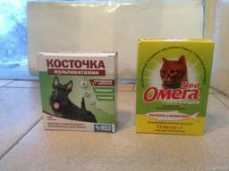 Омега витамины для собак Косточка витамины для собак