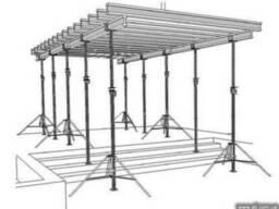 Опалубка аренда элементы опалубки опорные строительные леса