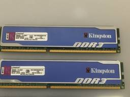 Оперативная память для компьютера DDR3 2*2Gb=4Gb Kingstone HyperX 1600