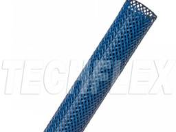 Оплетка для кабеля 6. 35 мм, синяя