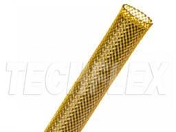 Оплетка для кабеля 6. 35 мм, желтая