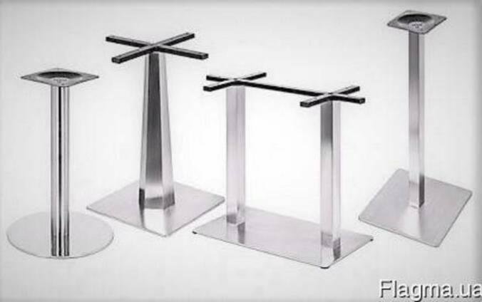 Опоры для столов металлические.
