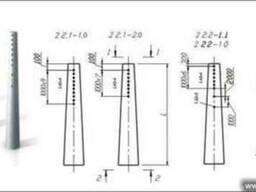 Опоры линии электропередач СВ 164-10, 7-1
